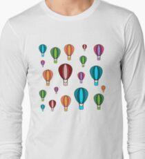 Hot Air Balloons - Multicoloured T-Shirt