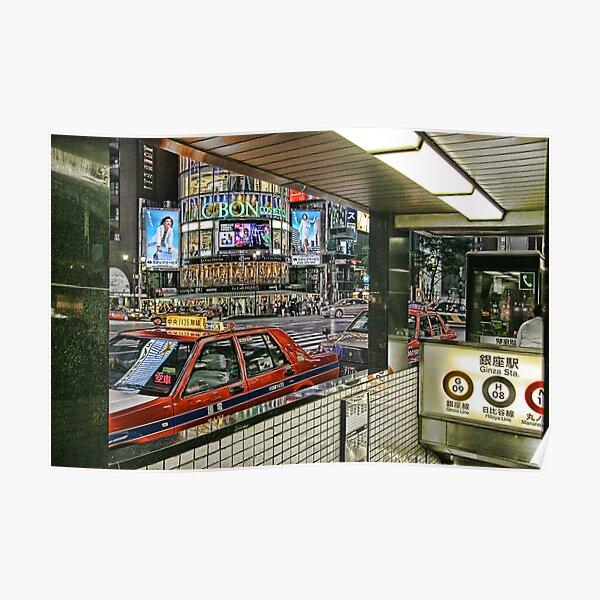 Tokyo - Ginza Poster