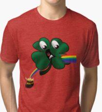 Shamrock's Bad Day Tri-blend T-Shirt