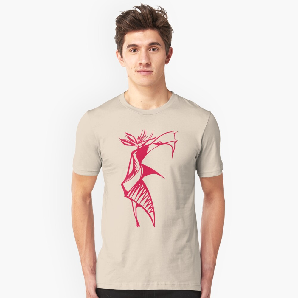 Red Warrior Queen Unisex T-Shirt Front