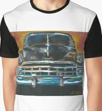 Vintage Car Art New Yorker Graphic T-Shirt