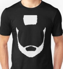 Beard & Mohawk White (dark shirts) T-Shirt