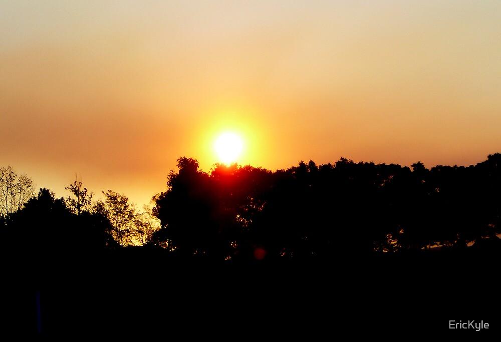 APRICOT SKY AT SUNDOWN by EricKyle