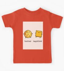 Cheese and crakers Kids Tee