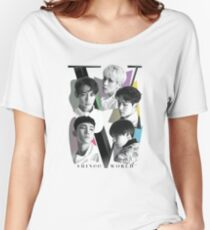 SHINee - Tour Poster Women's Relaxed Fit T-Shirt
