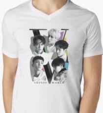 SHINee - Tour Poster Men's V-Neck T-Shirt