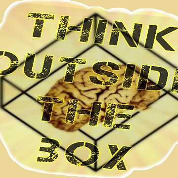 Think Outside The BOX by Kuvzmin