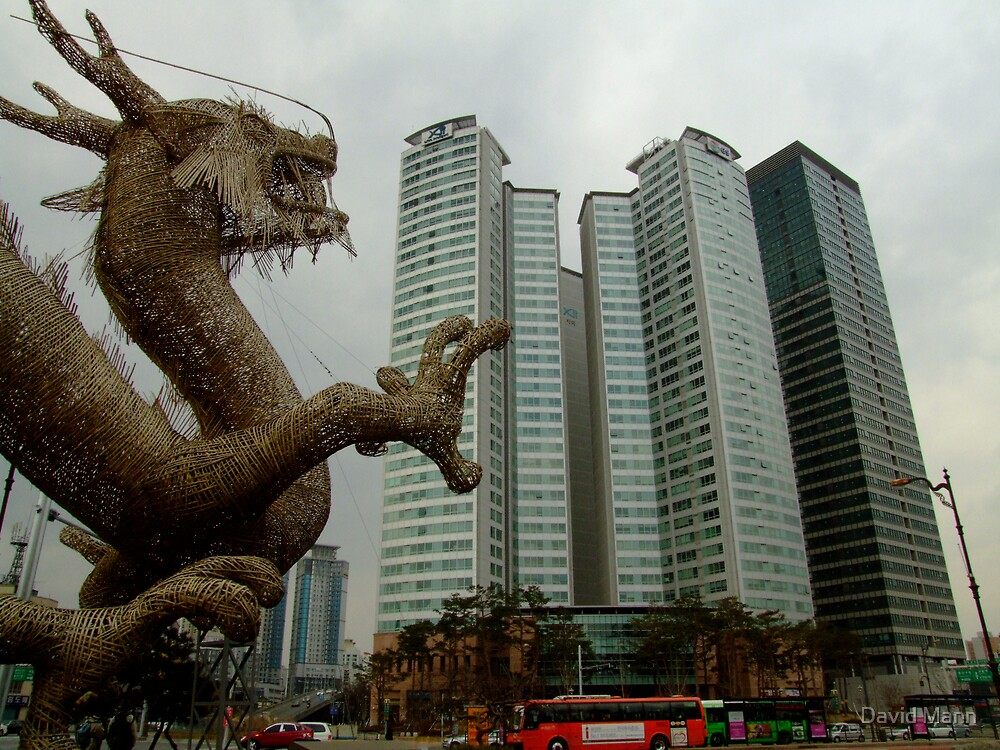 Dragon Attack by David Mann