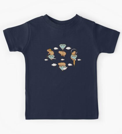 Capy in the Sky with Diamonds Kids Clothes