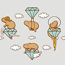 Capy in the Sky with Diamonds by Lili Batista
