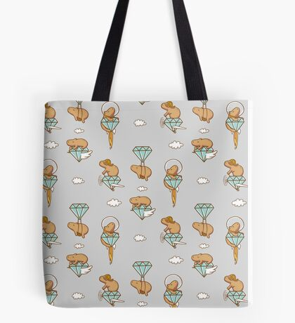 Capy in the Sky with Diamonds Tote Bag
