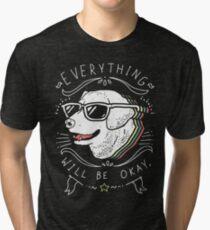Dog Shirt Tri-blend T-Shirt