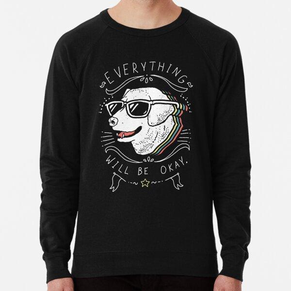 Dog Shirt Lightweight Sweatshirt