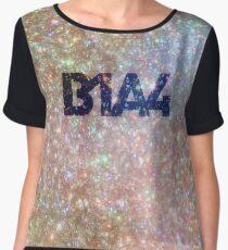 B1A4 - Glitter Logo Women's Chiffon Top