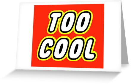 TOO COOL by Customize My Minifig
