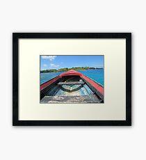 Island Commute Framed Print