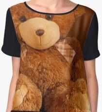 little Teddy bear  Chiffon Top
