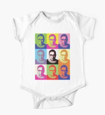 ruth bader ginsburg Short Sleeve Baby One-Piece