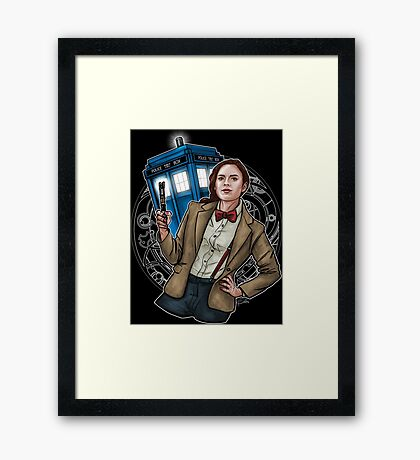 Doctor Carter Framed Print