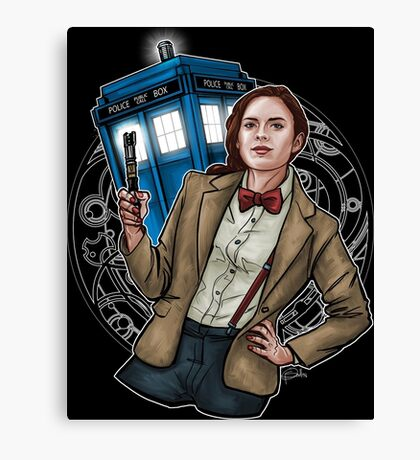 Doctor Carter Canvas Print