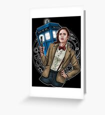 Doctor Carter Greeting Card