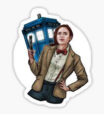 Doctor Carter Sticker