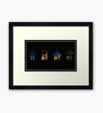 Four Parks Tribute Framed Print