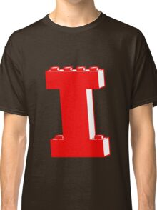 THE LETTER I, Customize My Minifig Classic T-Shirt