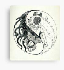 Mononoke Hime Canvas Print