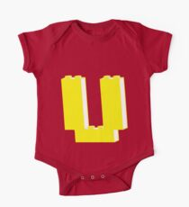 THE LETTER U, Customize My Minifig Kids Clothes