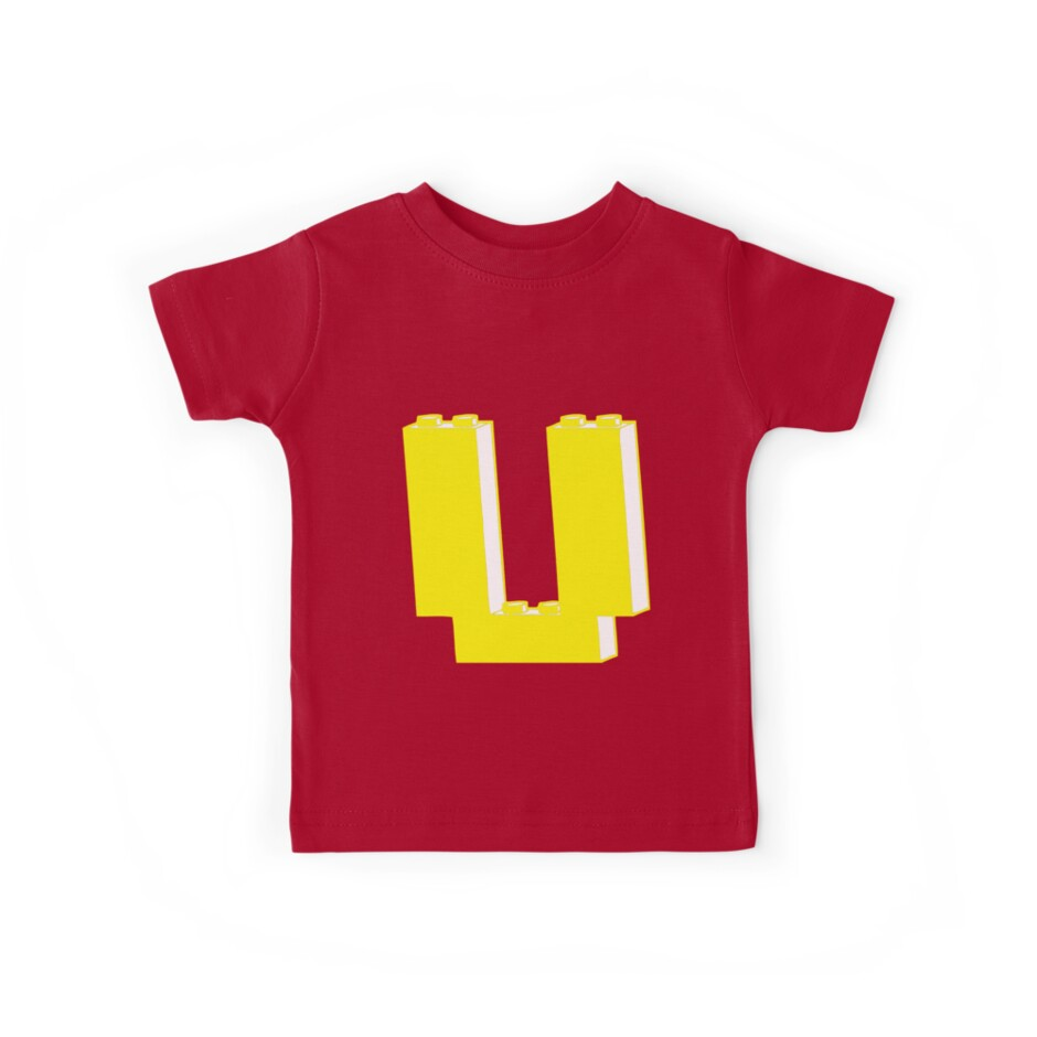 THE LETTER U, Customize My Minifig by Customize My Minifig
