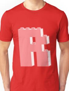 THE LETTER R, Customize My Minifig T-Shirt