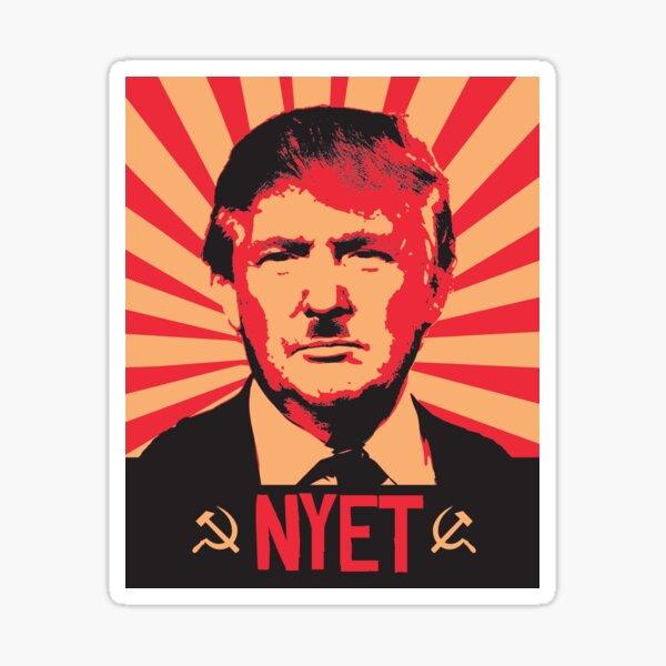 NYET MEIN PRÄSIDENT Sticker