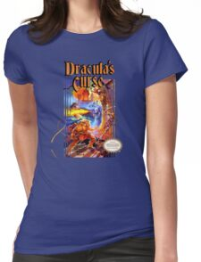 Castlevania - Dracula's Curse NES Womens Fitted T-Shirt