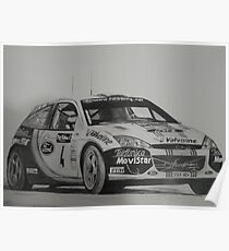 Ford Focus Rally 2002 Poster