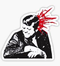 john f. kennedy misfits bullet sticker Sticker
