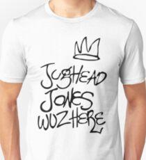 Riverdale - Jughead Jones Wuz Here (Black version) - Archie Comics Unisex T-Shirt
