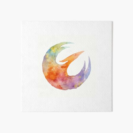 SWR Fire Bird Art Board Print