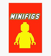 MINIFIGS, Customize My Minifig Photographic Print