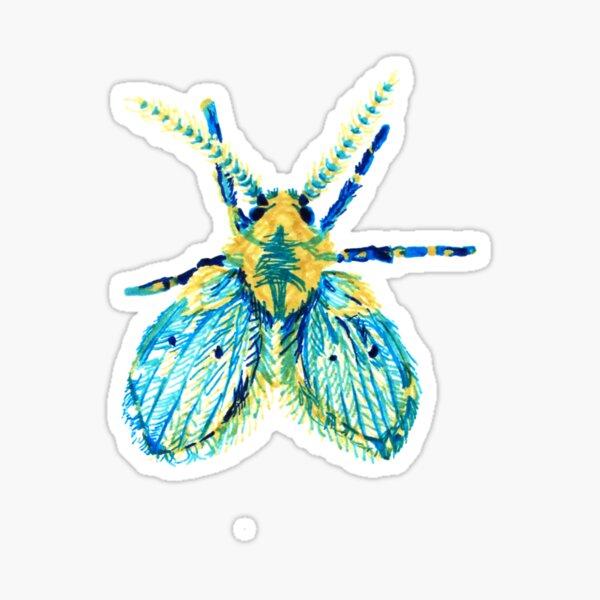 Drain Fly Sticker