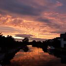 Dusk Canal... by John Gilluley