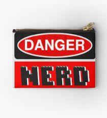 Danger Nerd Sign Studio Pouch