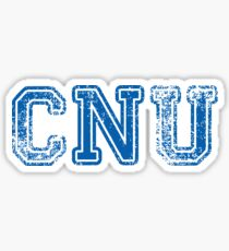 CNU  - Christopher Newport University Sticker