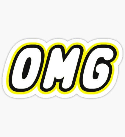 OMG, Customize My Minifig Sticker