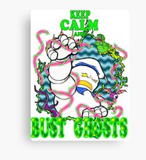 Busting Ghosts Canvas Print