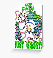 Busting Ghosts Greeting Card