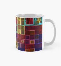 Shiny Futuristic  Squares Classic Mug