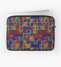 Shiny Futuristic  Squares Laptop Sleeve