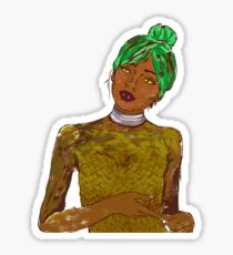 lamia lady Sticker