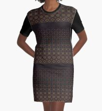 Tiered Pattern by Julie Everhart Graphic T-Shirt Dress